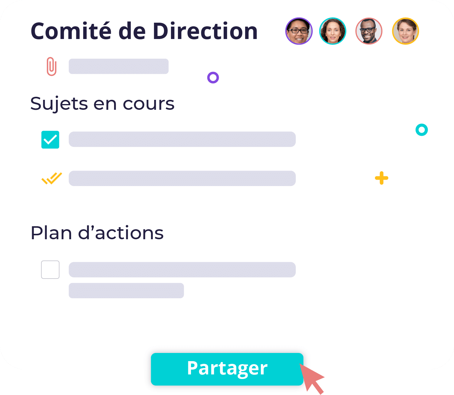 comité de direction